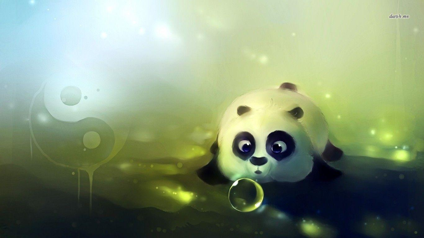 cute panda wallpapers