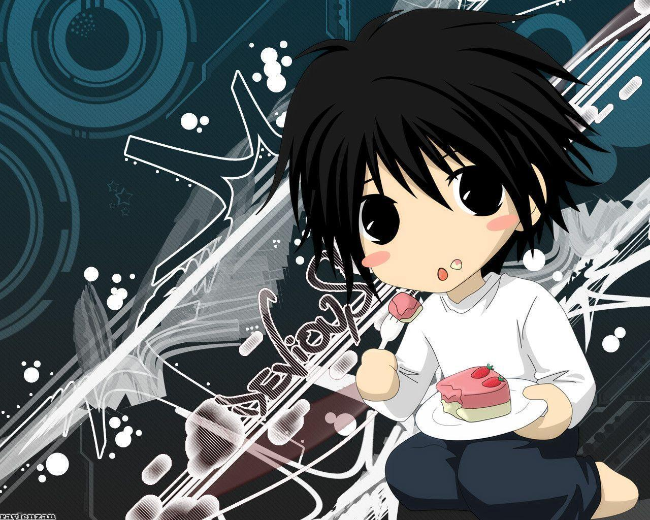 L Death Note Wallpapers High Quality | Download Free |L Death Note