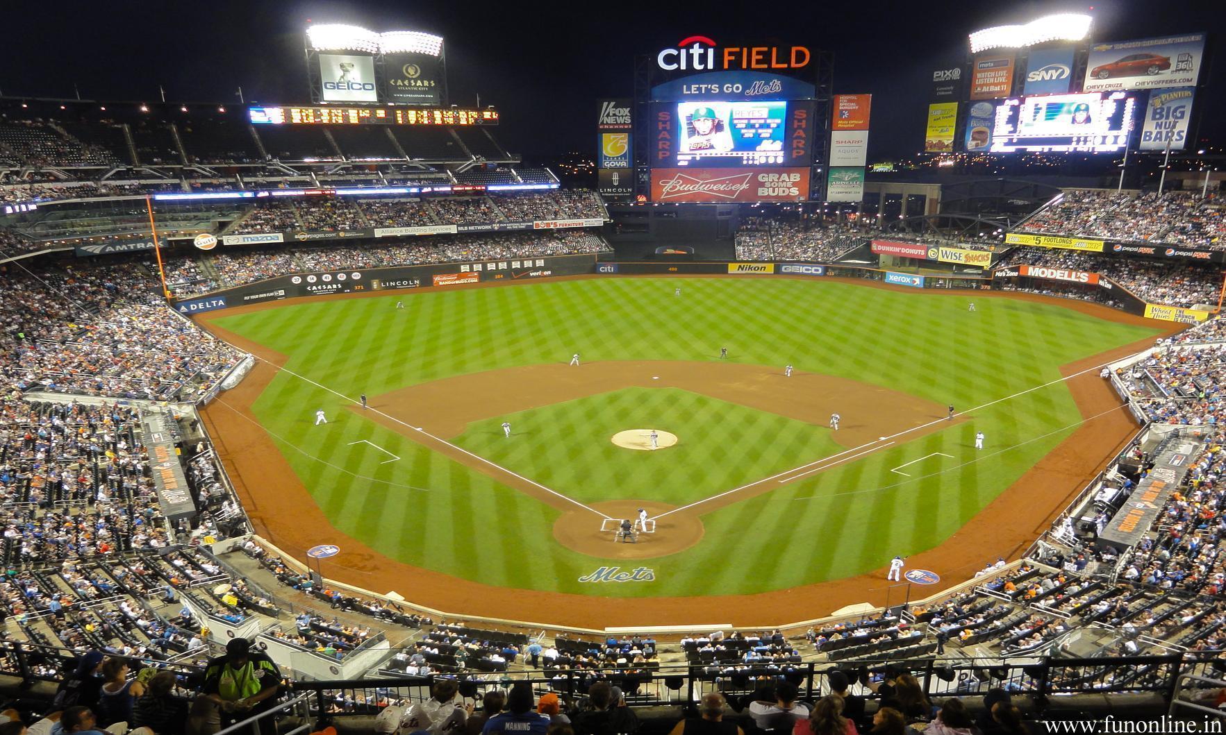Baseball Stadium Wallpapers - Wallpaper Cave