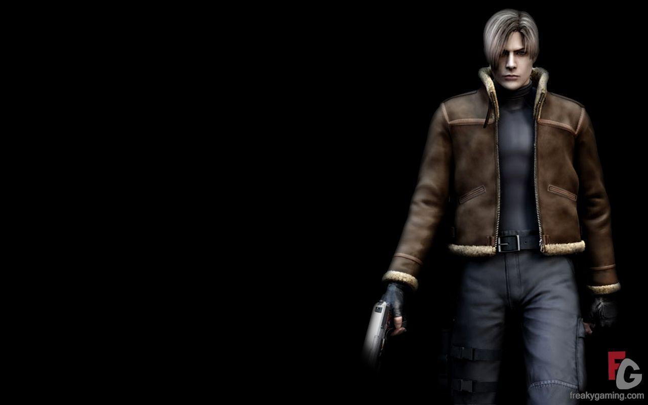 Resident Evil 4 Leon Wallpapers - Wallpaper Cave