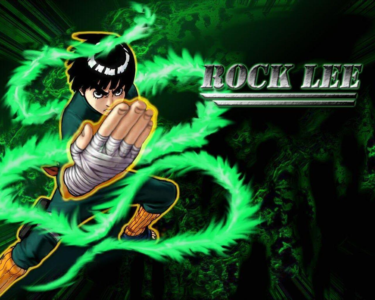 Rock Lee Wallpapers - Wallpaper Cave Gaara And Rock Lee Vs Kimimaro