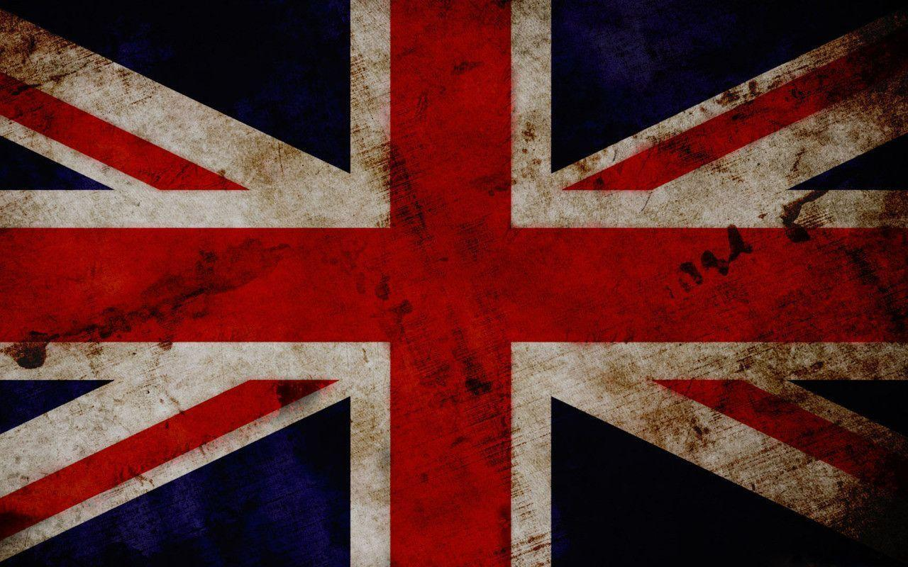 United Kingdom Grunge Flag widescreen wallpaper | Wide-