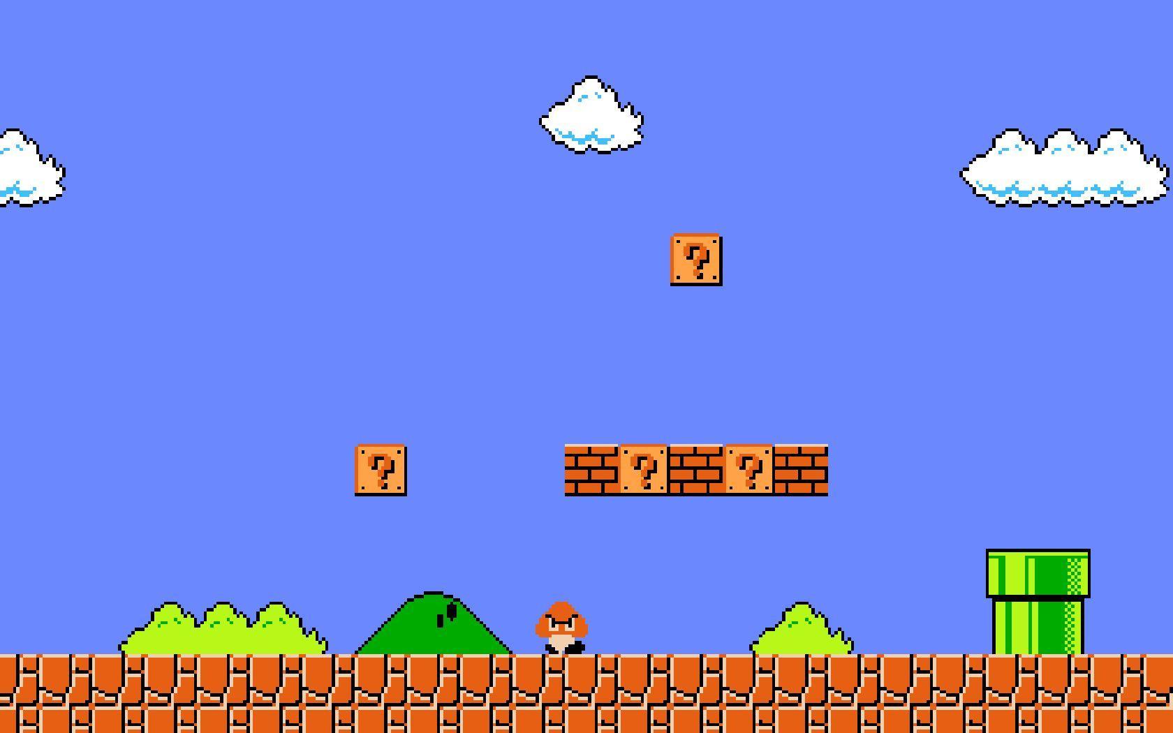 Mario Desktop Backgrounds: Super Mario 3 Wallpapers