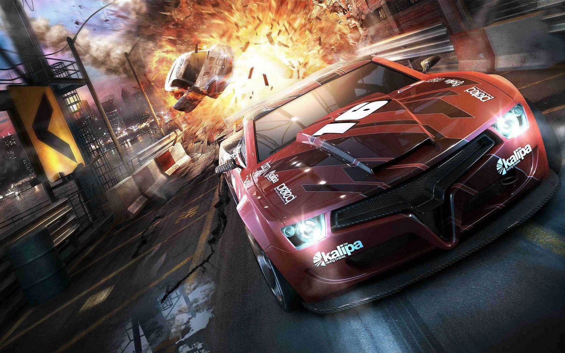 Racing Car Games Hd Wallpaper: Gaming PC Wallpapers