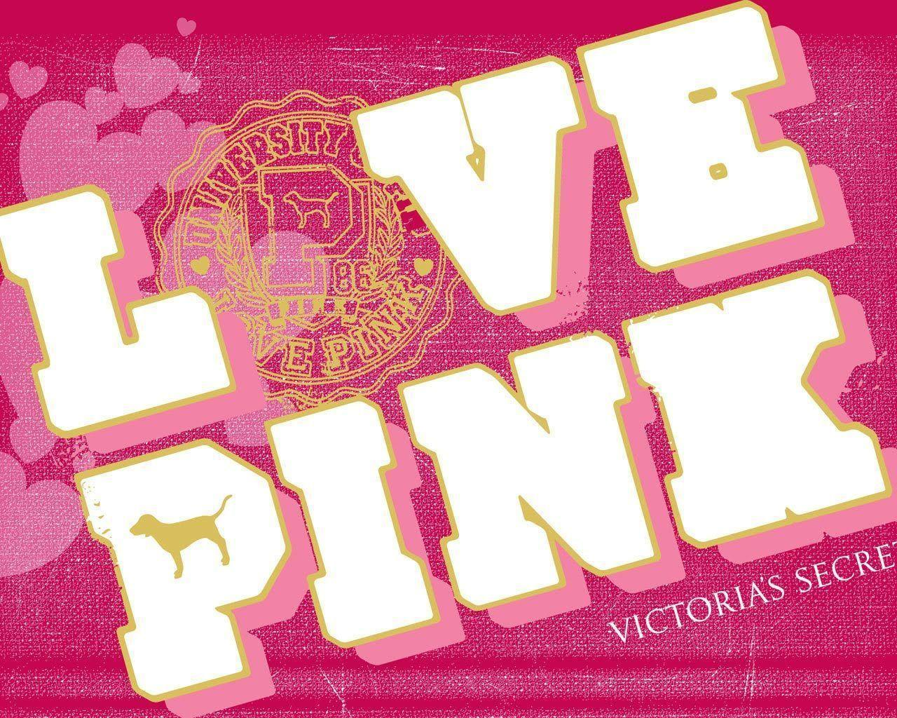 victoria s pink logo wallpaper - photo #21