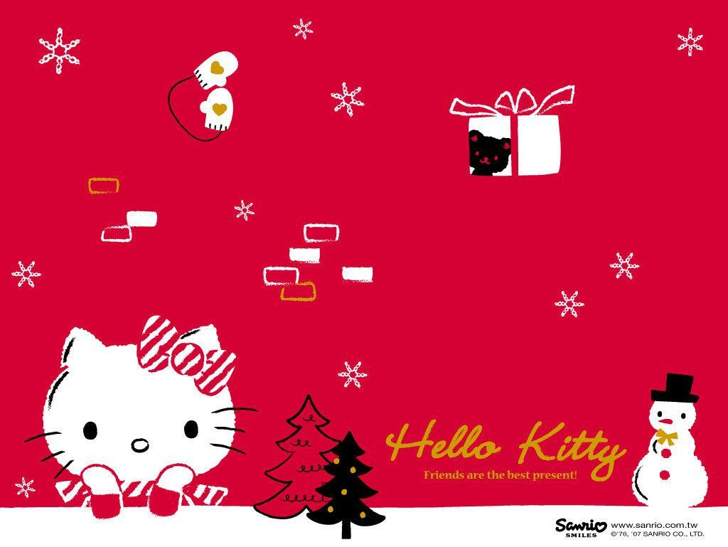 Hello Kitty Winter Wallpapers - Wallpaper Cave