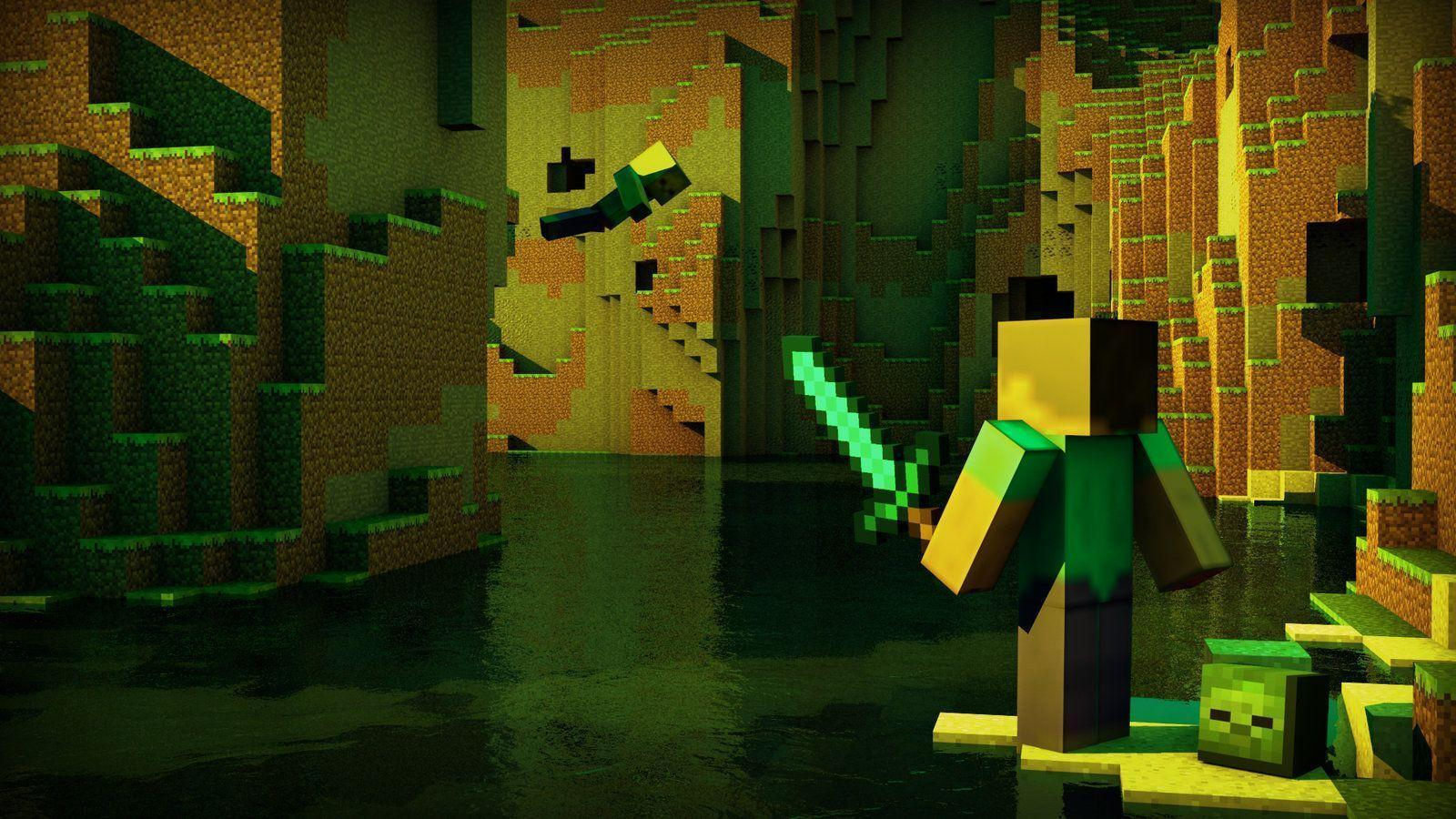 awesome minecraft wallpapers wallpaper cave
