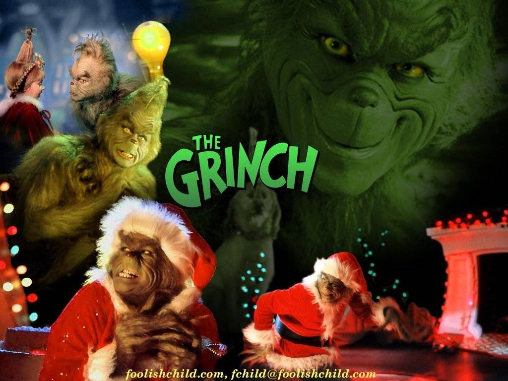 Swell Grinch Wallpapers Wallpaper Cave Easy Diy Christmas Decorations Tissureus