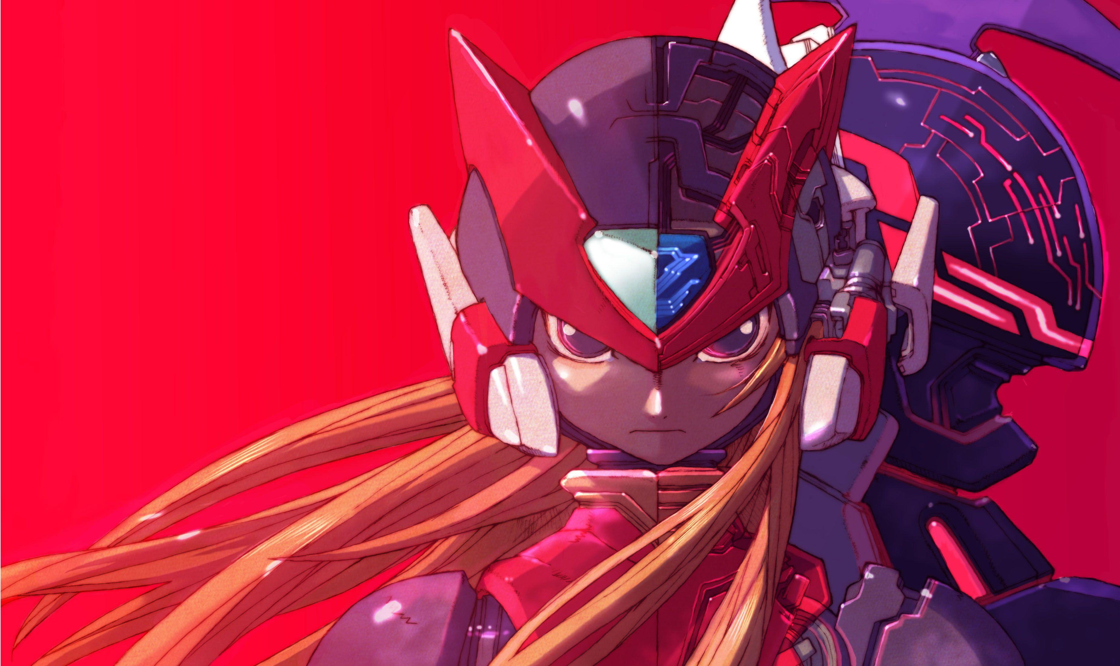 Mega Man Zero Wallpapers Wallpaper Cave