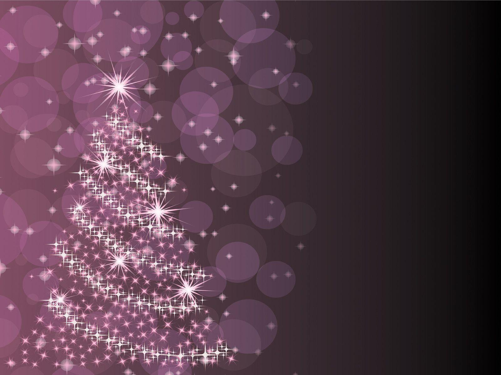 purple christmas tree powerpoint ppt backgrounds christmas - Purple Christmas Tree