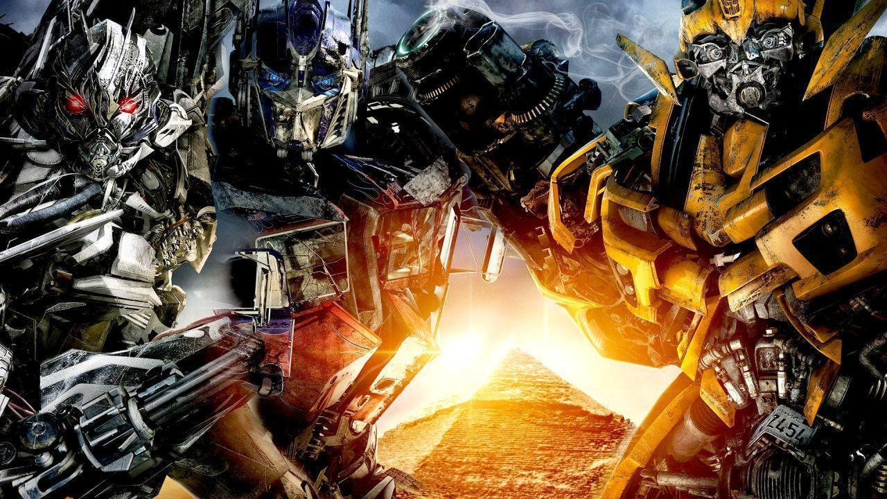transformers 2 bumblebee and optimus prime