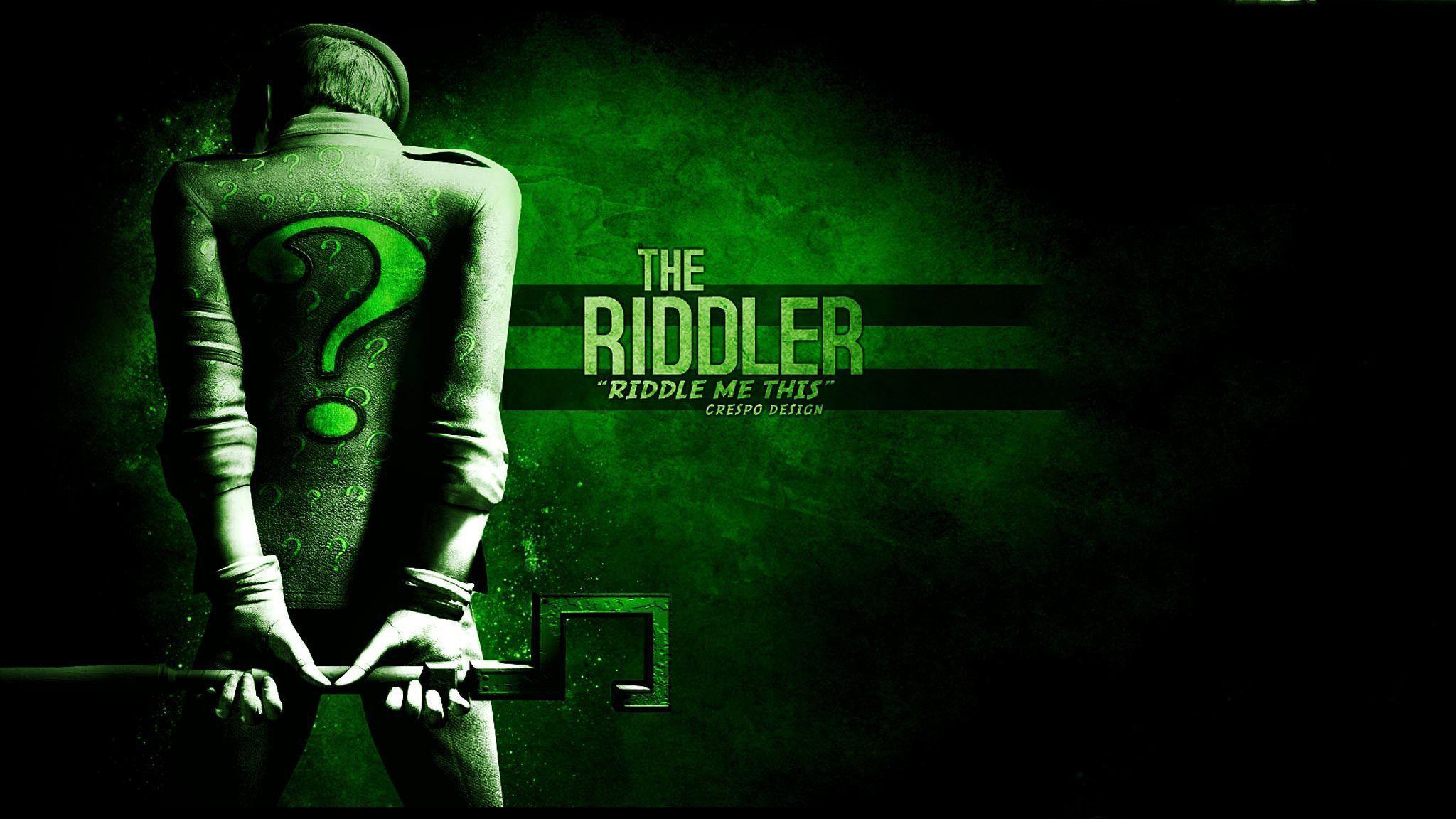 Riddler Arkham City Wallpaper Images Pictures