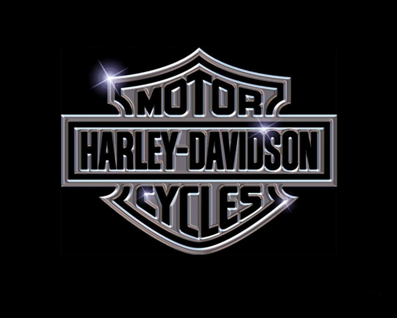 Harley Davidson Logo Wallpapers Wallpaper Cave