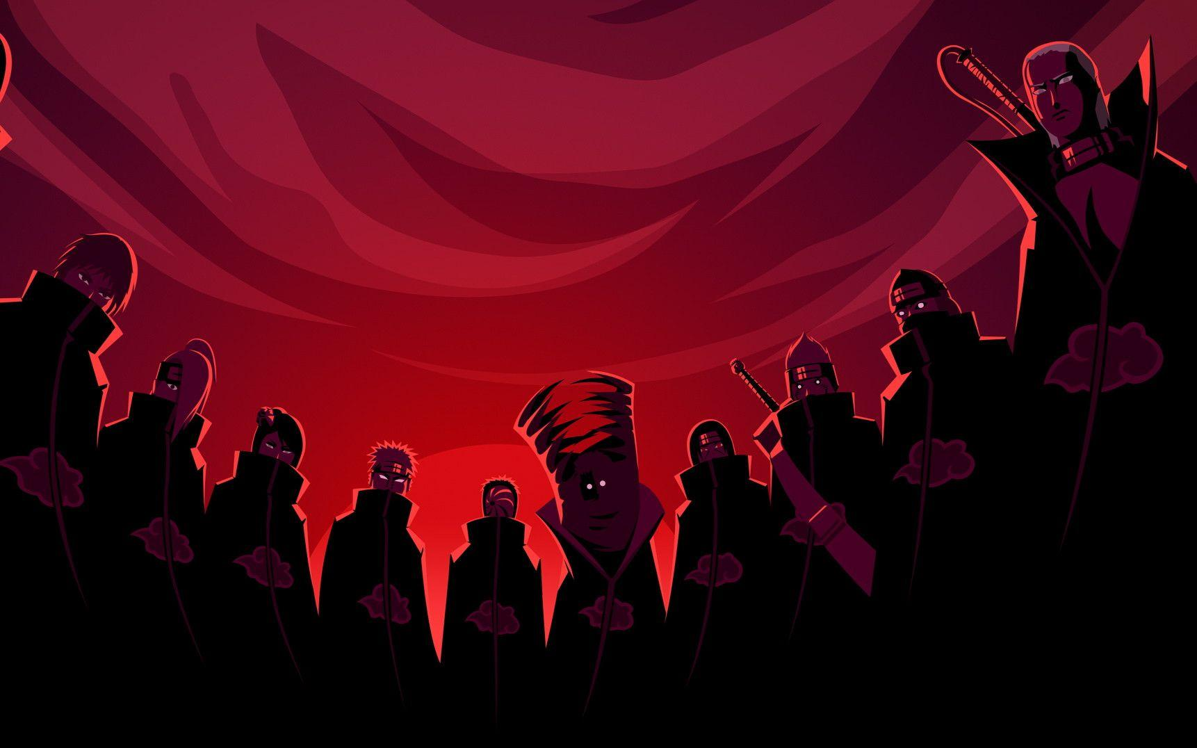 akatsuki backgrounds wallpaper cave