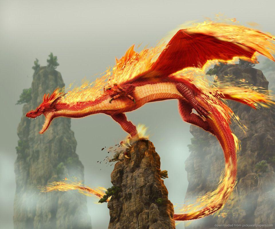 Download Fire Dragon Wallpapers For Samsung Epic
