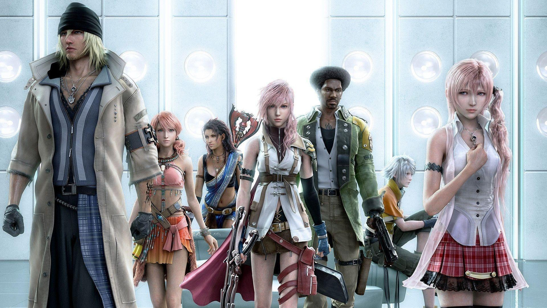 final fantasy xiii game 4 wallpapers