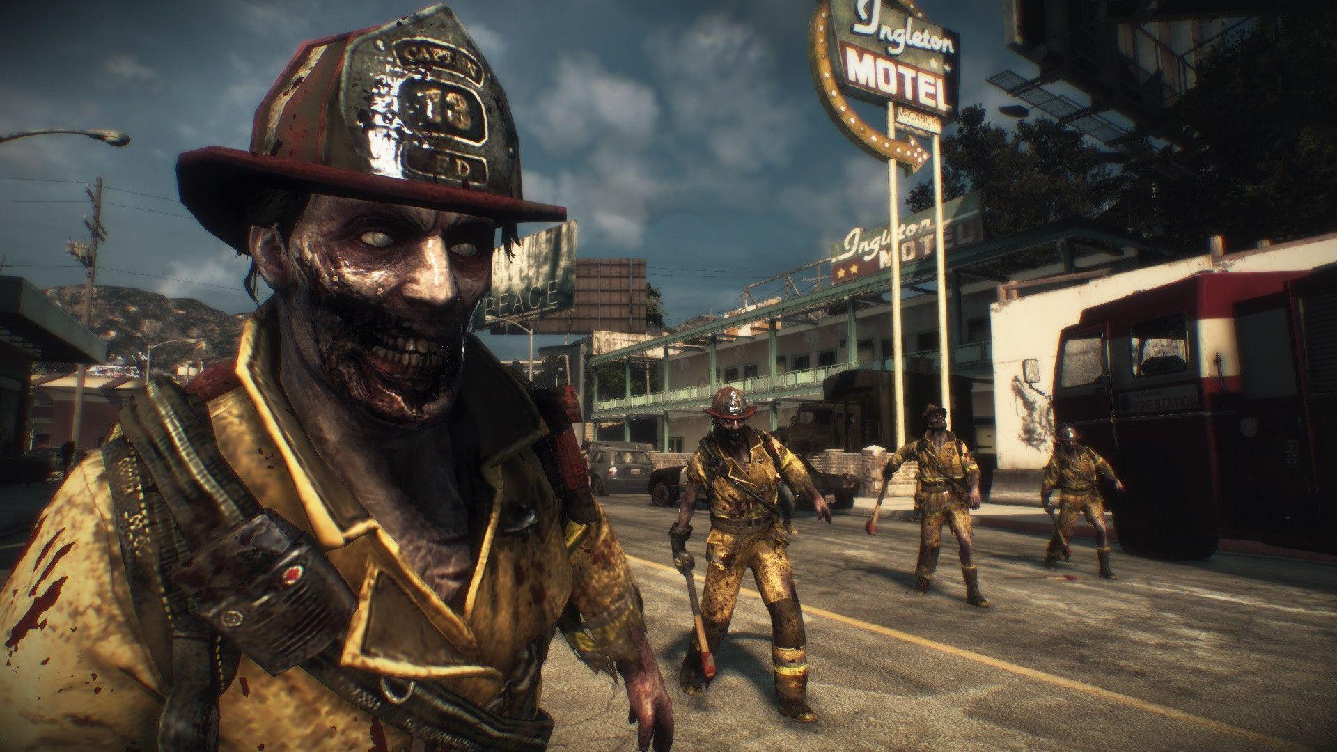 Dead Rising 3 Fireman Zombies Wallpapers Id