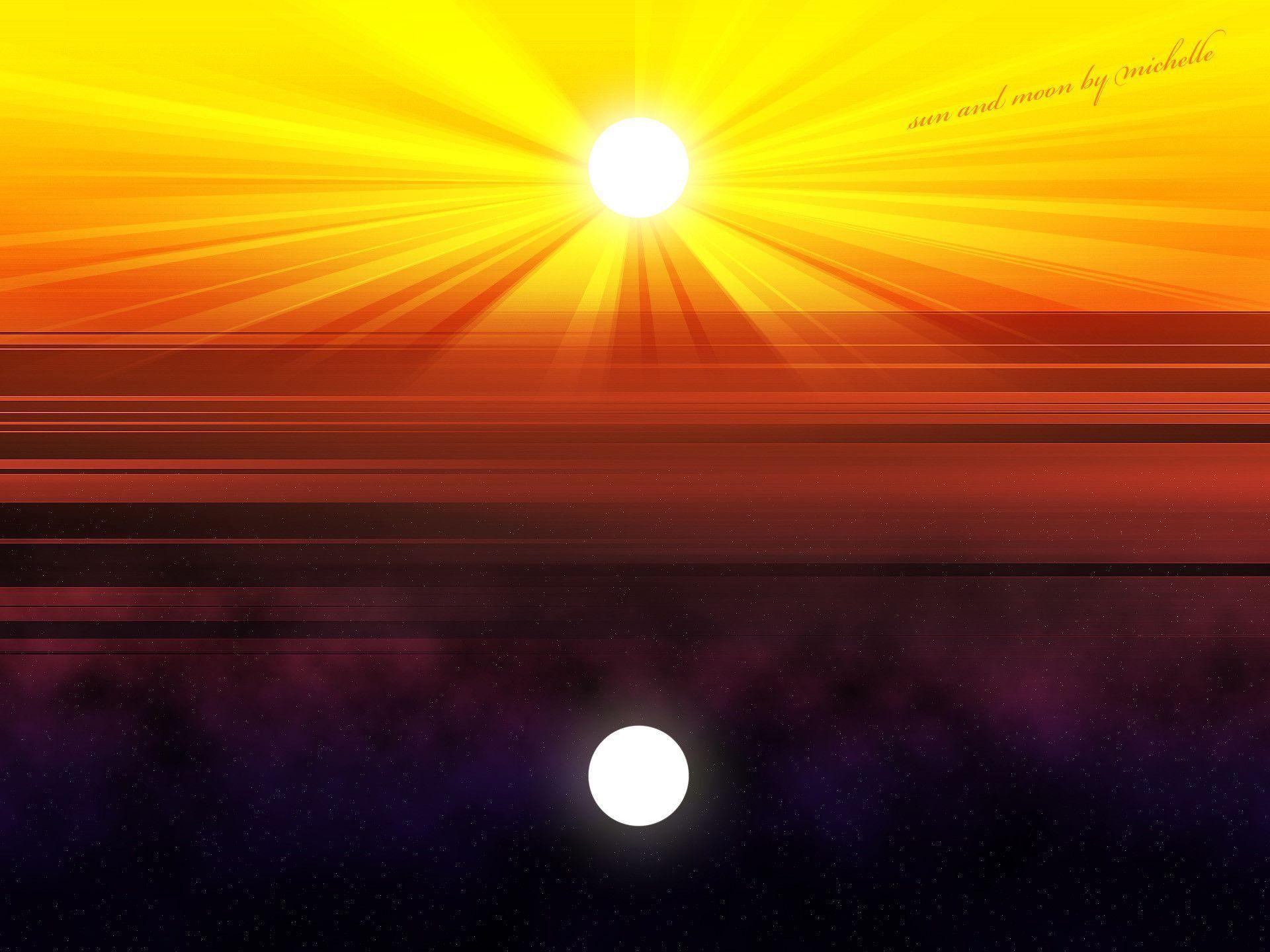 star background sun moon - photo #47