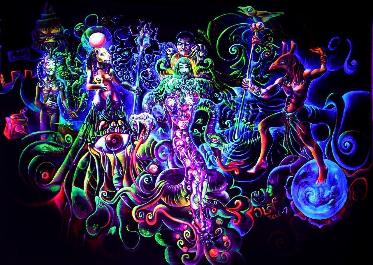 Psychedelic hd wallpapers wallpaper cave - Trippy nature wallpaper ...