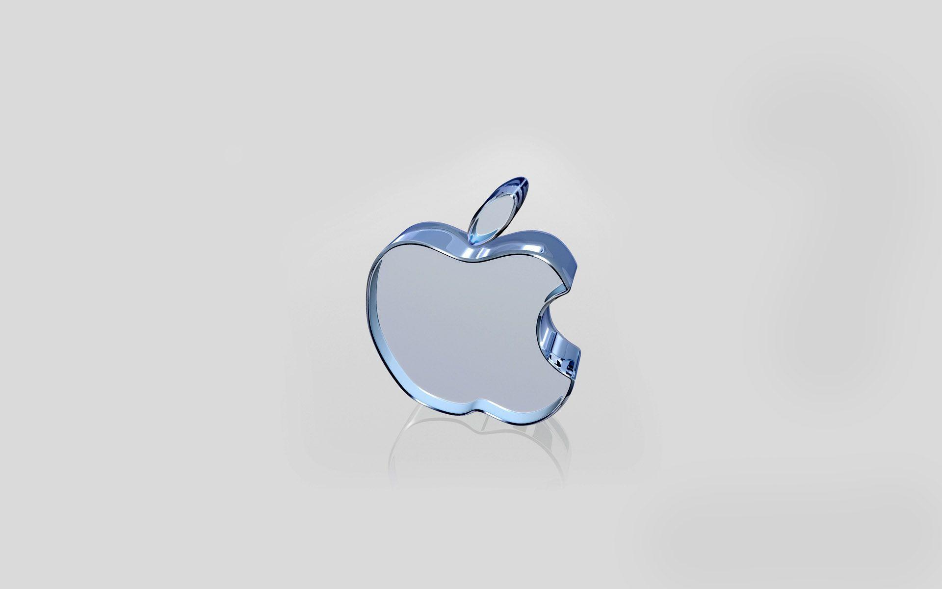 Apple White Glass Wallpapers