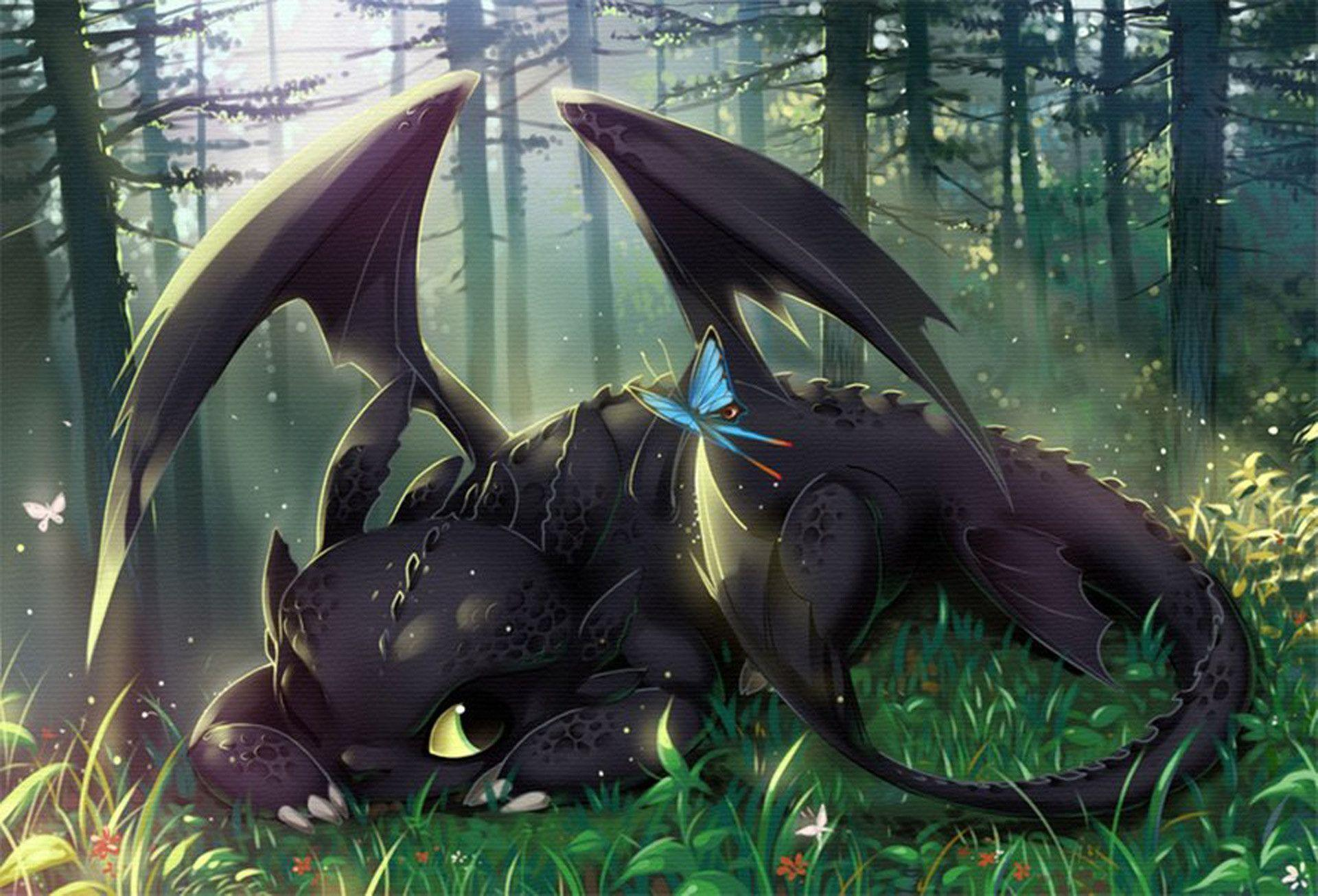 httyd toothless upside down wallpaper - photo #33