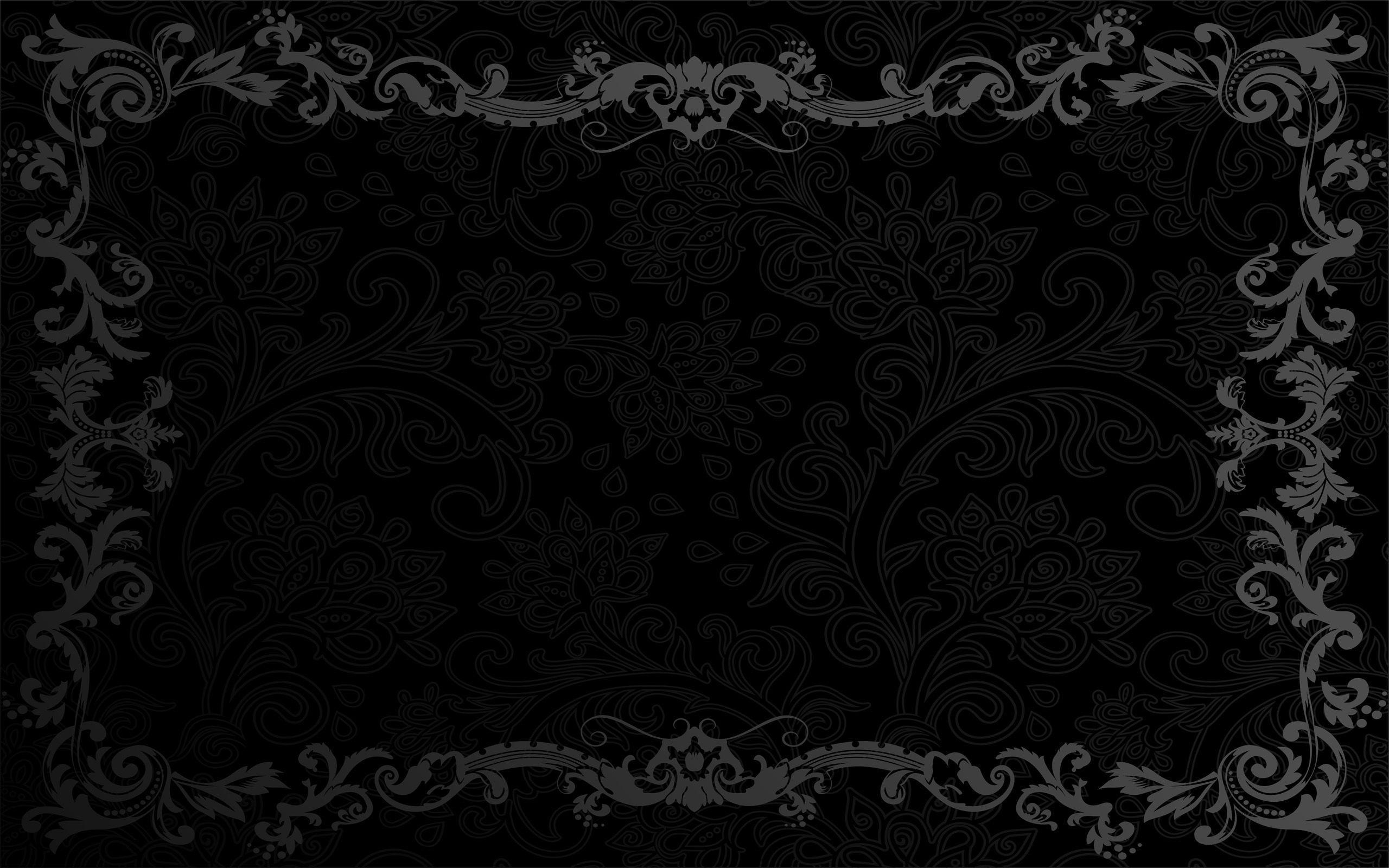 Black Computer Wallpapers, Desktop Backgrounds 2560x1600 Id: 330082
