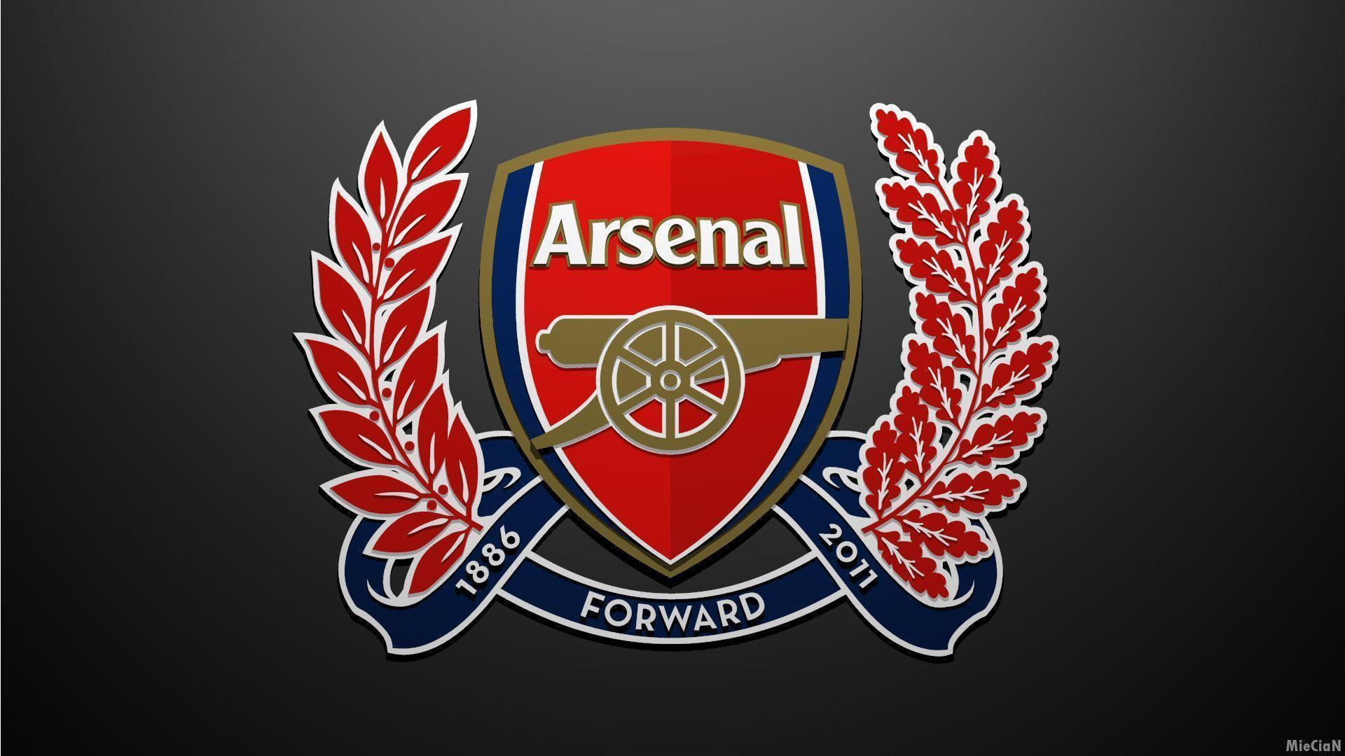 Arsenal Logo Wallpapers Wallpaper Cave Fc Gambar
