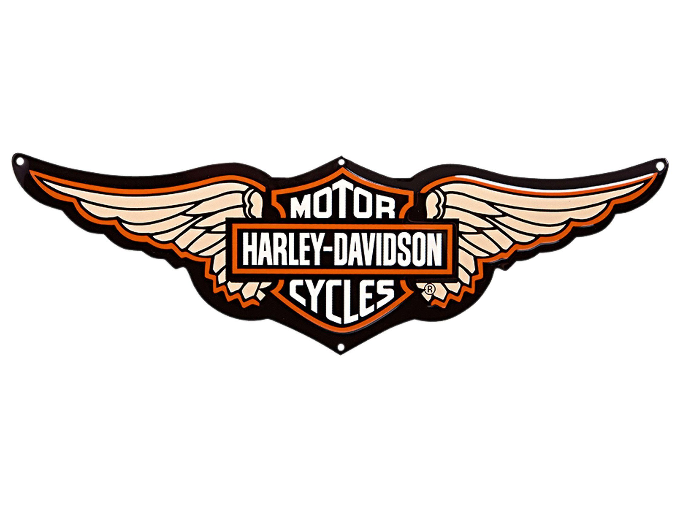 newest harley davidson logo wallpapers - photo #15