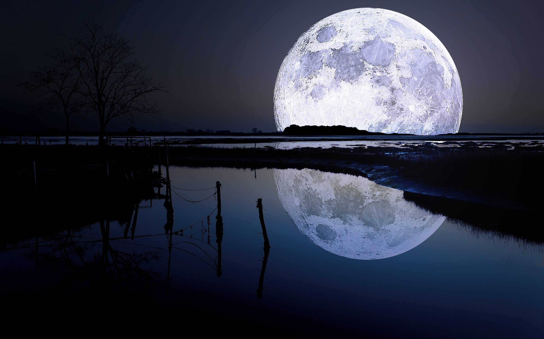 Wallpapers For > Full Moon Wallpaper Desktop