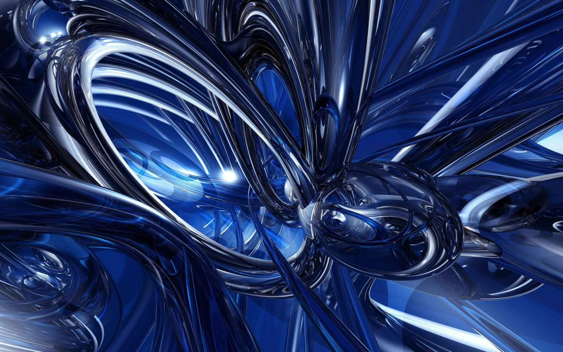 Abstract Blue Wallpapers