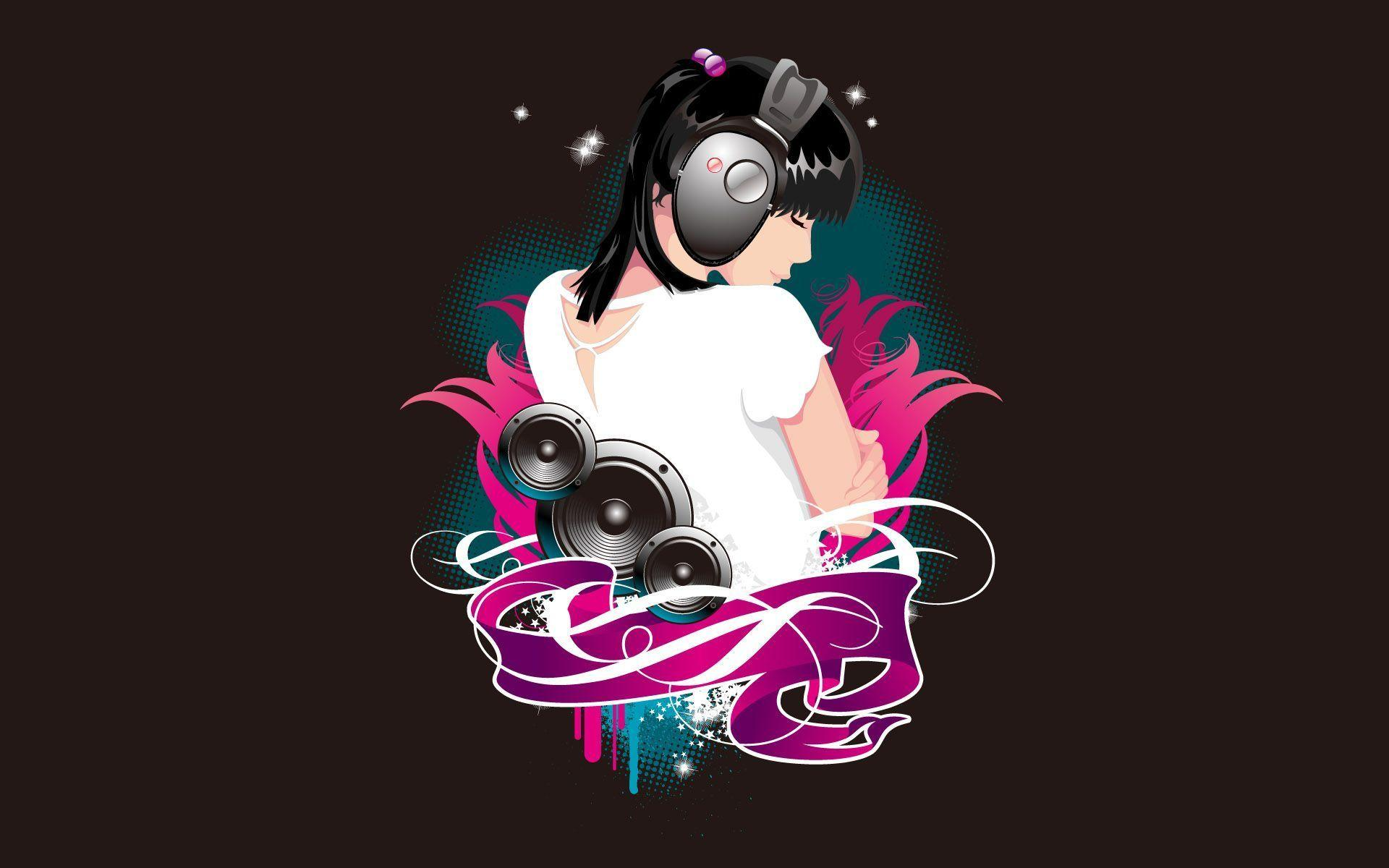 Cool Abstract Dj Music Wallpaper: Music Abstract Wallpapers