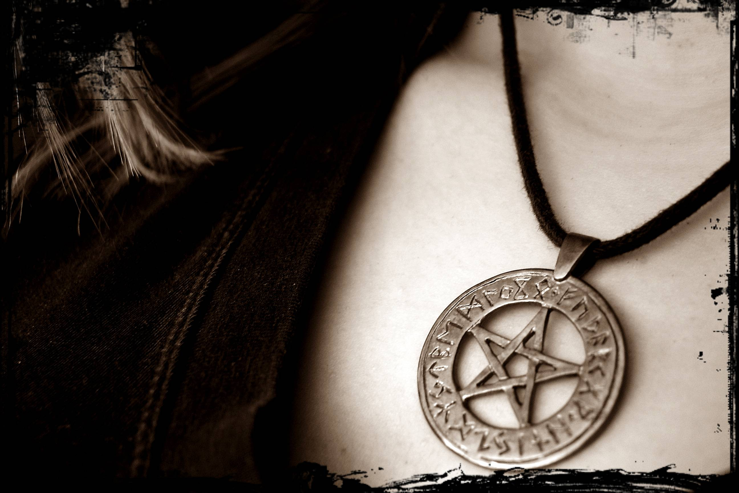 Pentagram Necklace wallpapers from Demon wallpapers