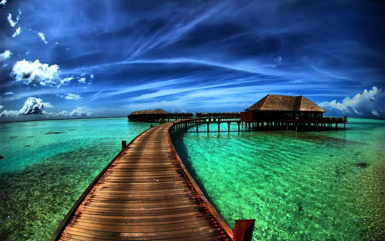 Hd Tropical Island Beach Paradise Wallpapers And Backgrounds: Beach Paradise Wallpapers