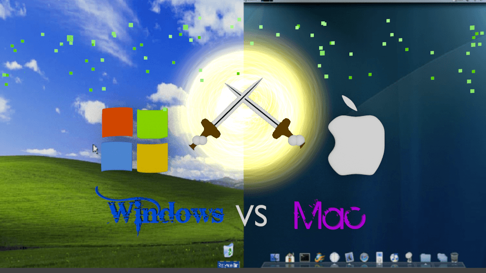 My Finished Wndiws vs Mac Wallpapers