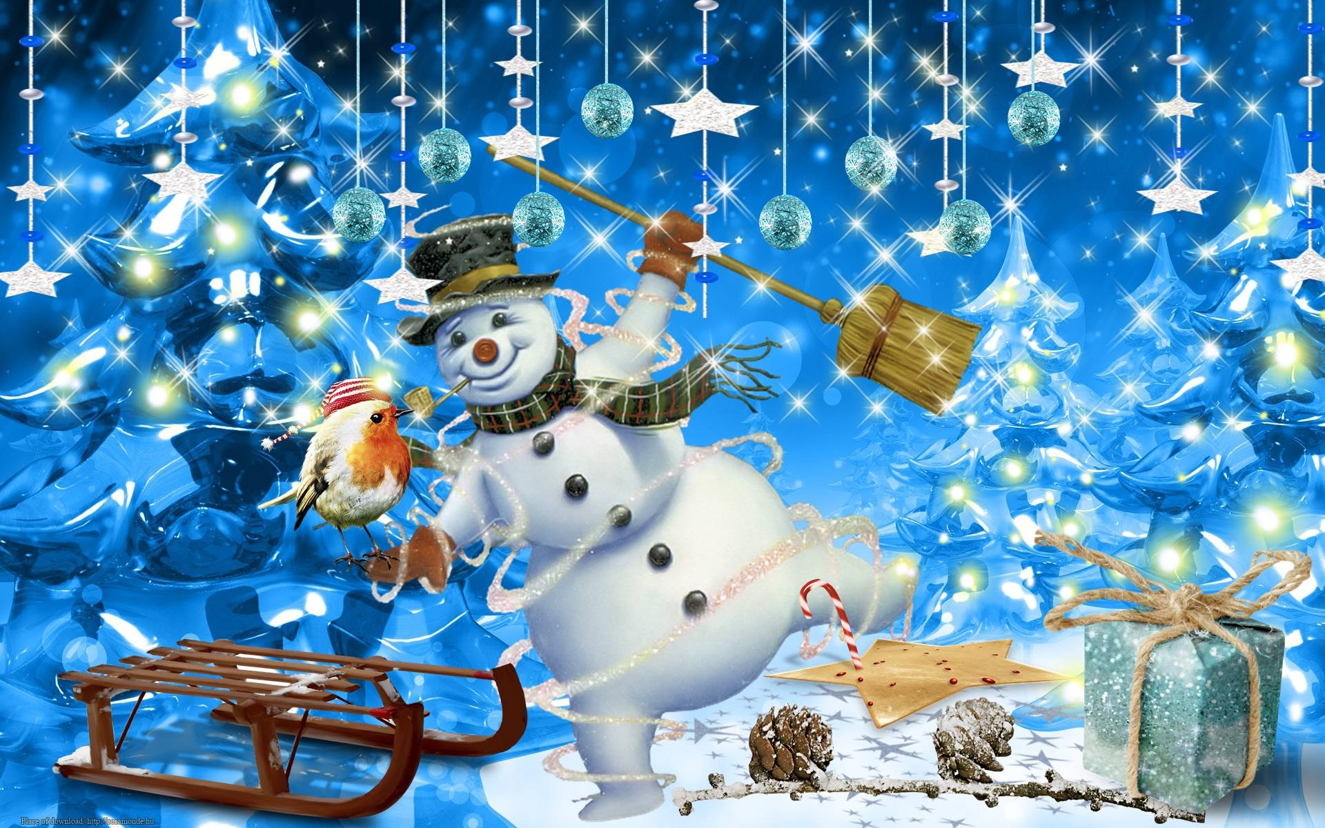 cute country snowman wallpaper - photo #46