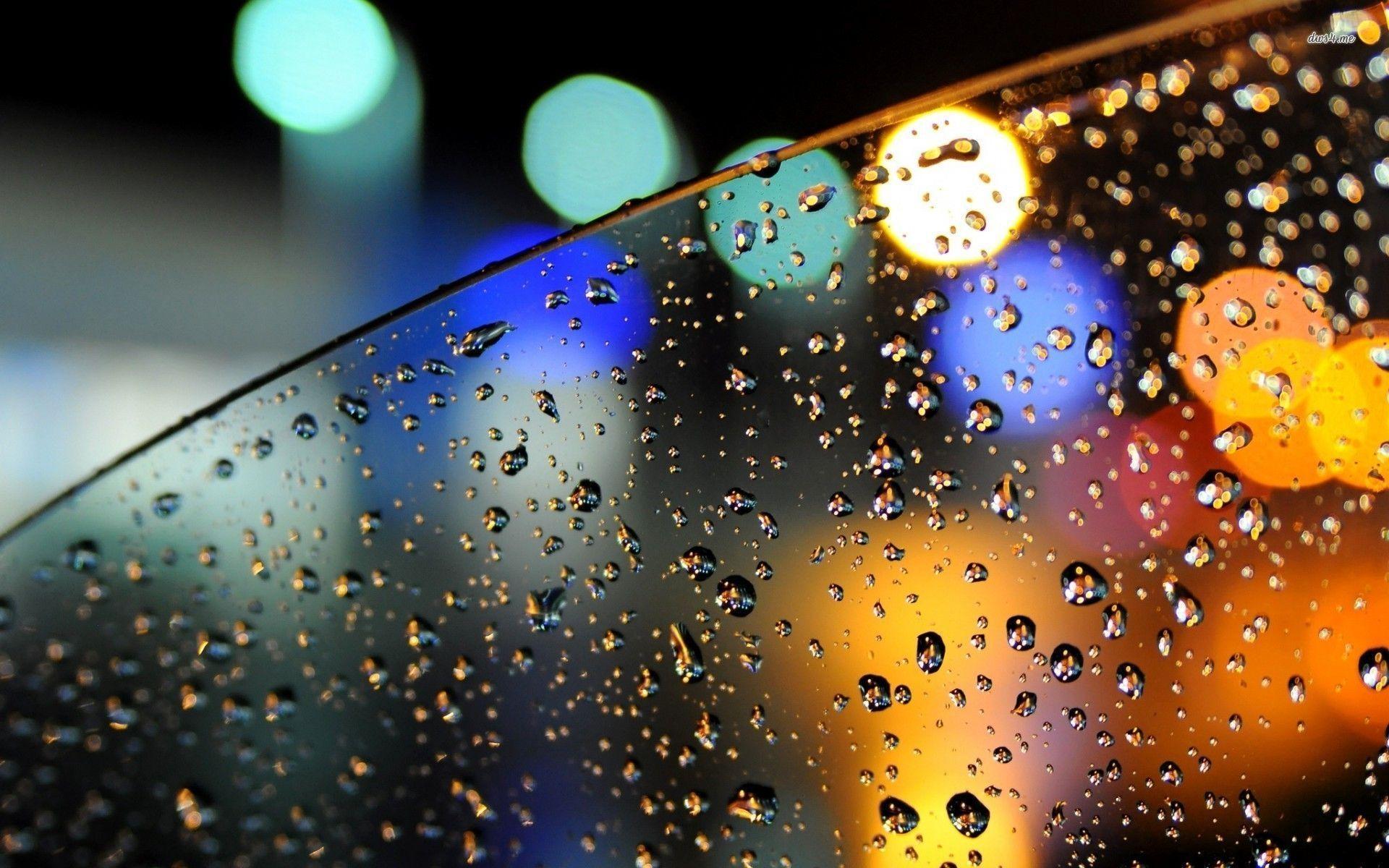 Rain Window Wallpapers Wallpaper Cave