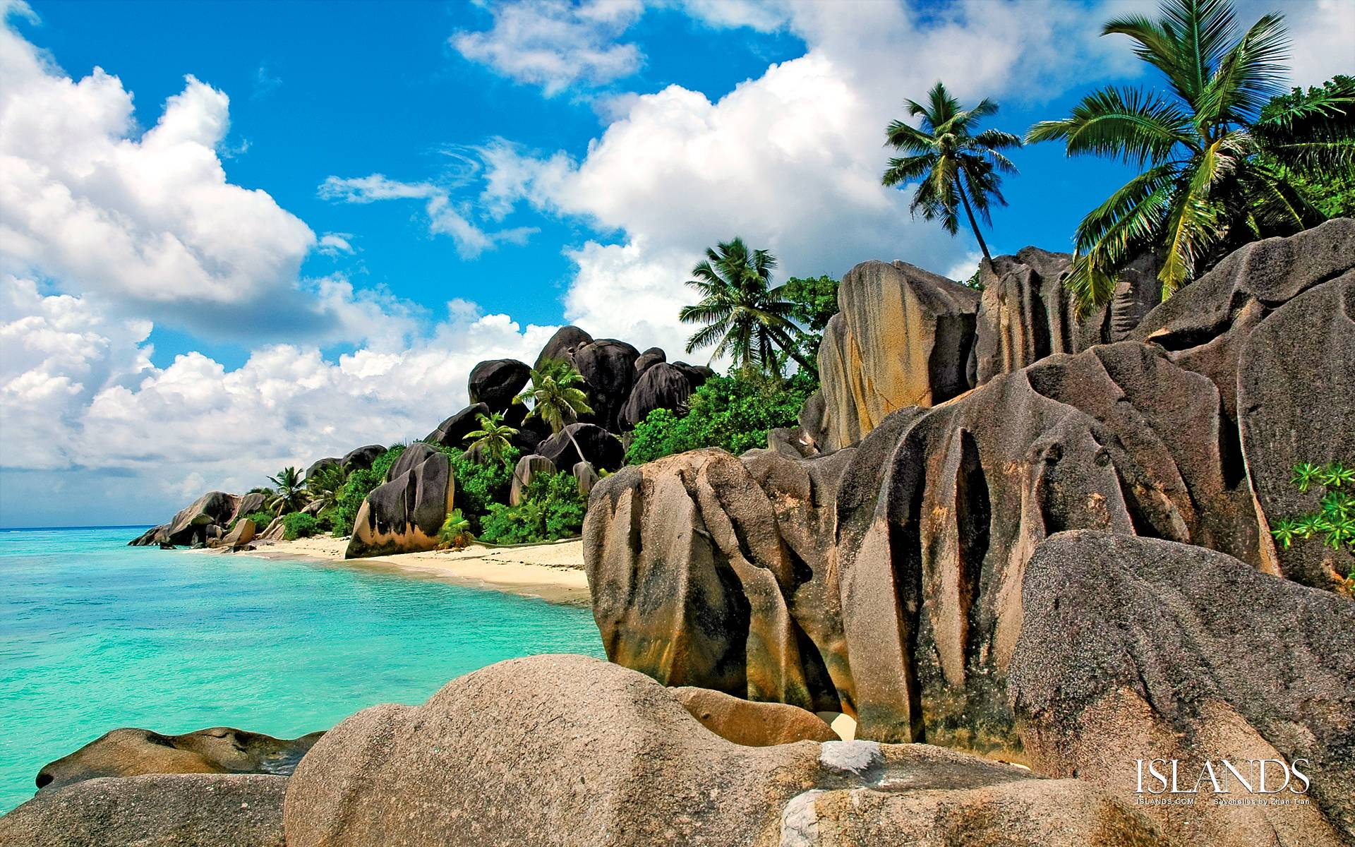 Explore The Beauty Of Caribbean: Seychelles Wallpapers