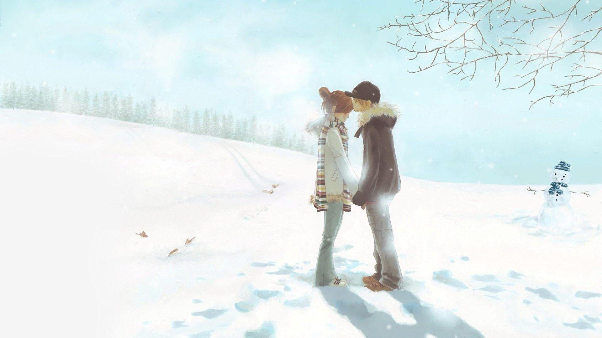 Cute Anime Couple Wallpapers 18880 Wallpapers