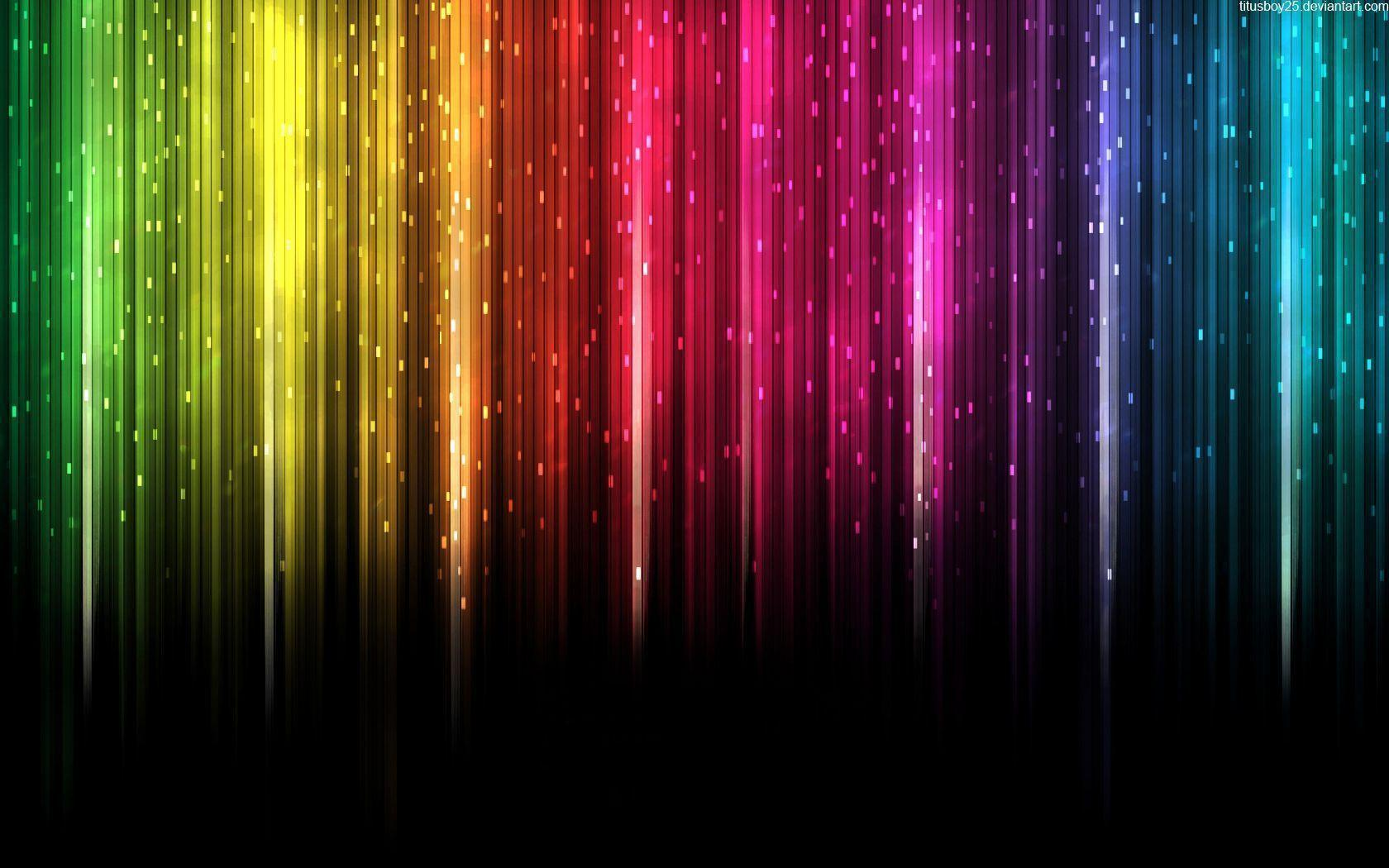 Rainbow Colored Wallpapers on