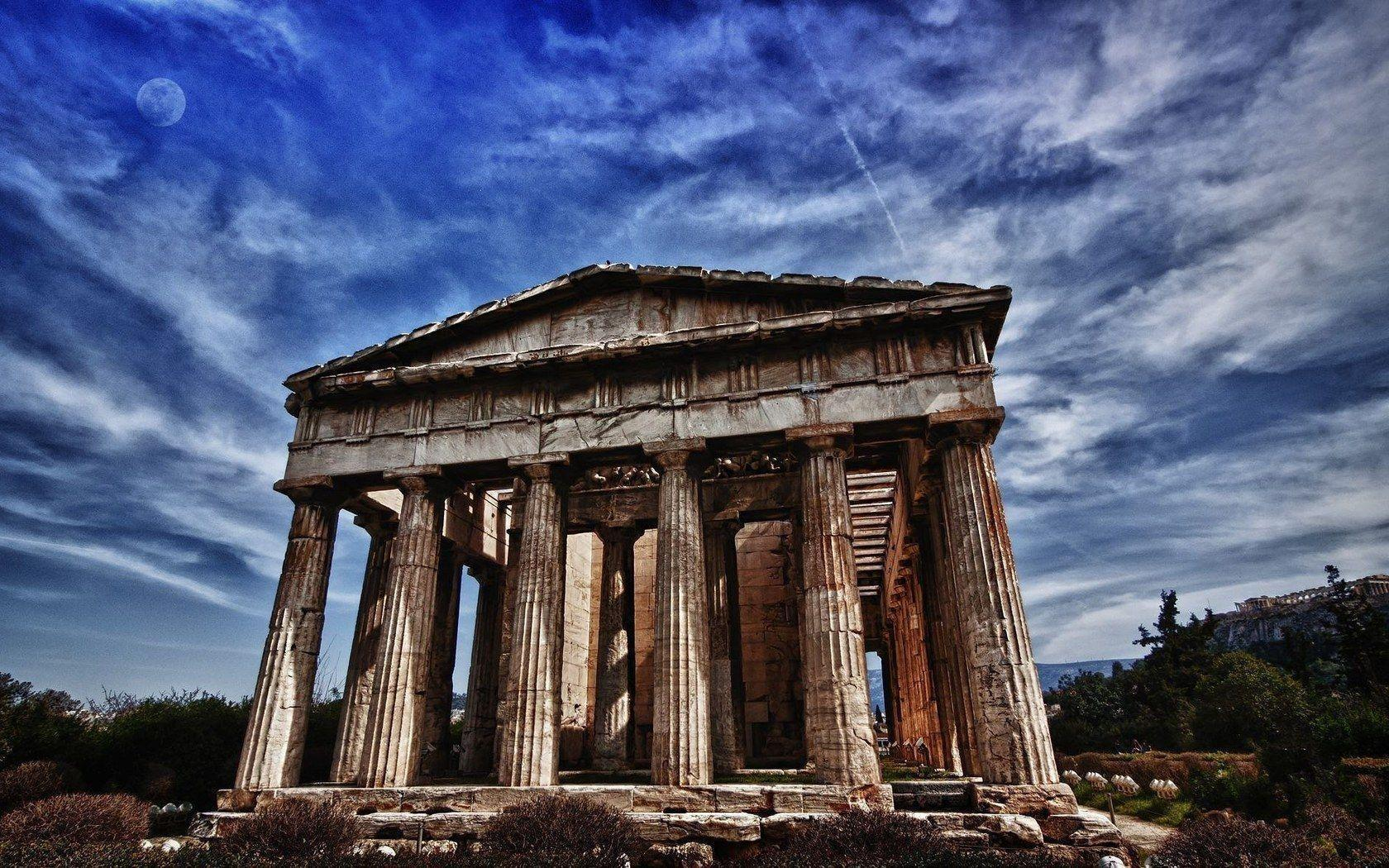 Download wallpapers city, Athens, Parthenon, Attraction free