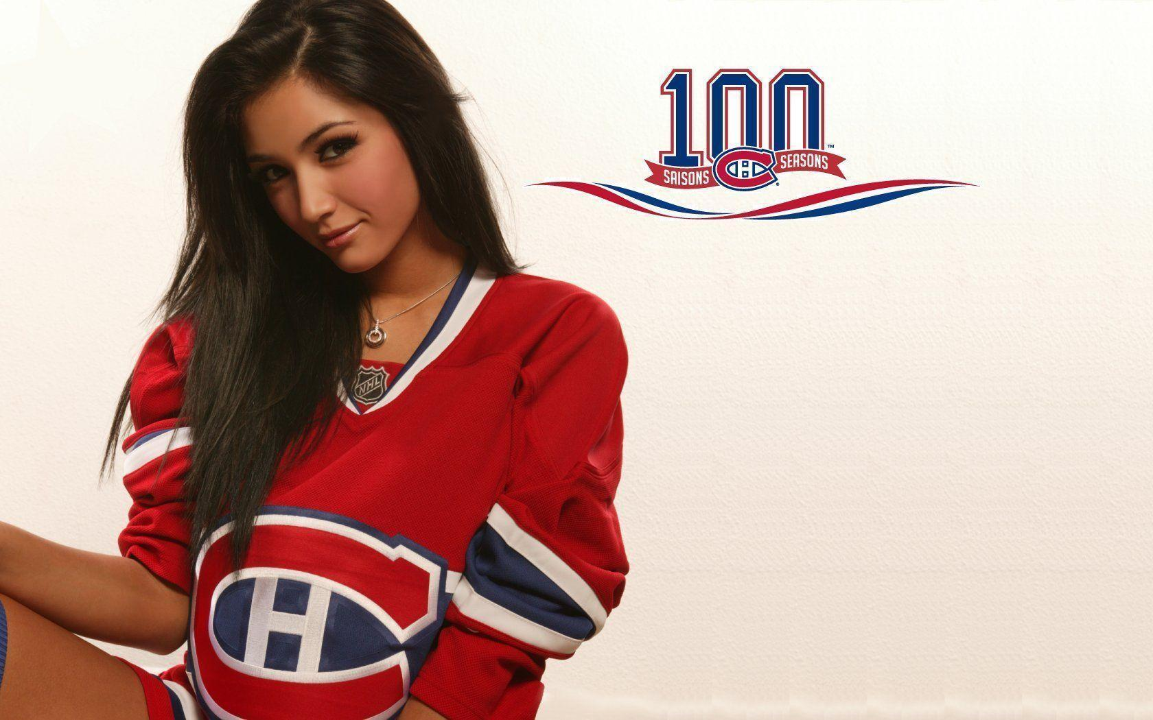 Montreal Canadiens Girl HD Wallpapers