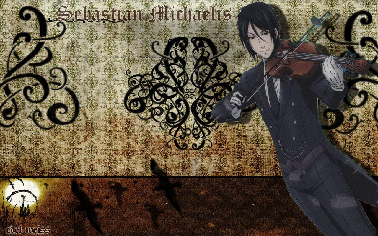 Wallpaper Sebastian M. - Kuroshitsuji Wallpaper (8128211) - Fanpop