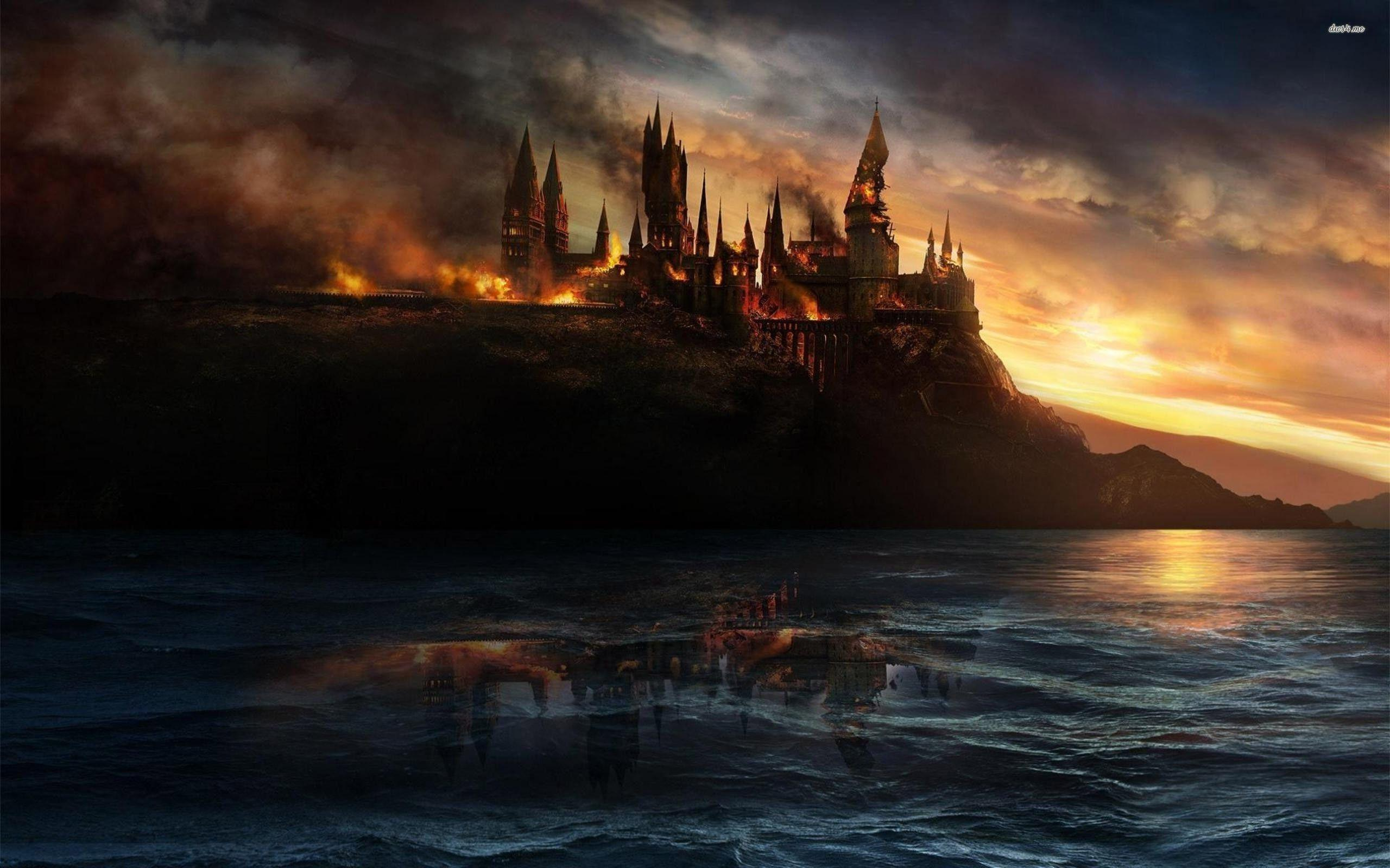 Hd wallpaper harry potter - Harry Potter Deathly Hallows Wallpapers Full Hd Wallpaper Search