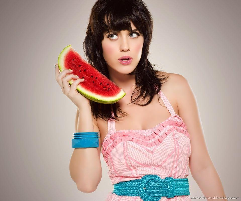 Download Katy Perry Watermelon Phone Wallpapers For Samsung Epic