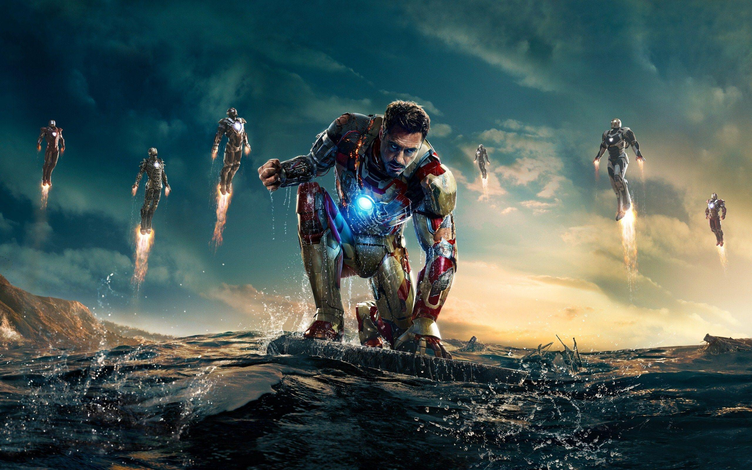 Iron Man 3 Movie Poster HD Wallpapers