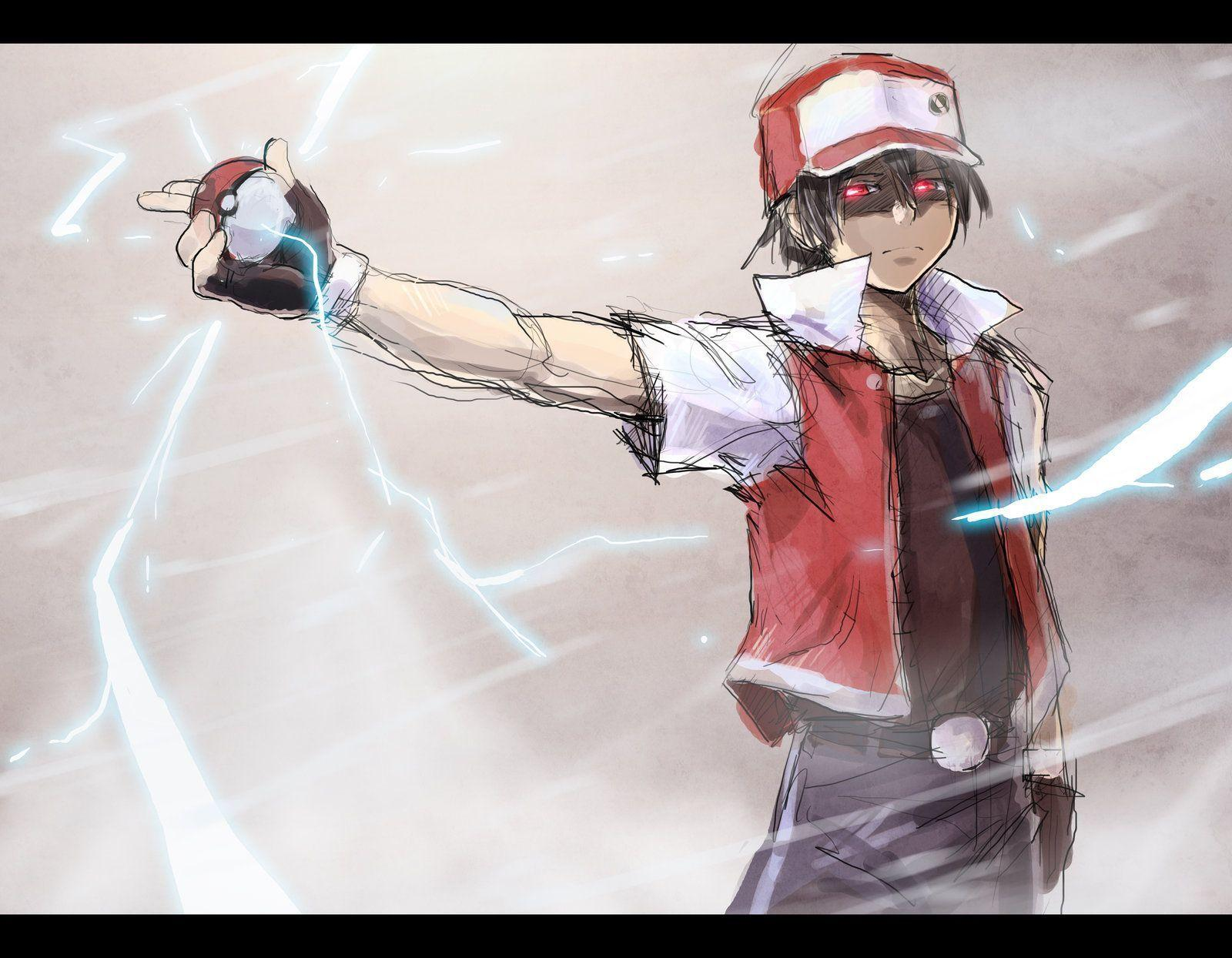 Image For > Pokemon Trainer Red Team