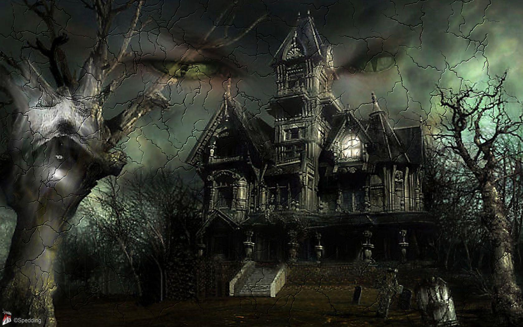 Scary Halloween Desktop Backgrounds - Wallpaper Cave