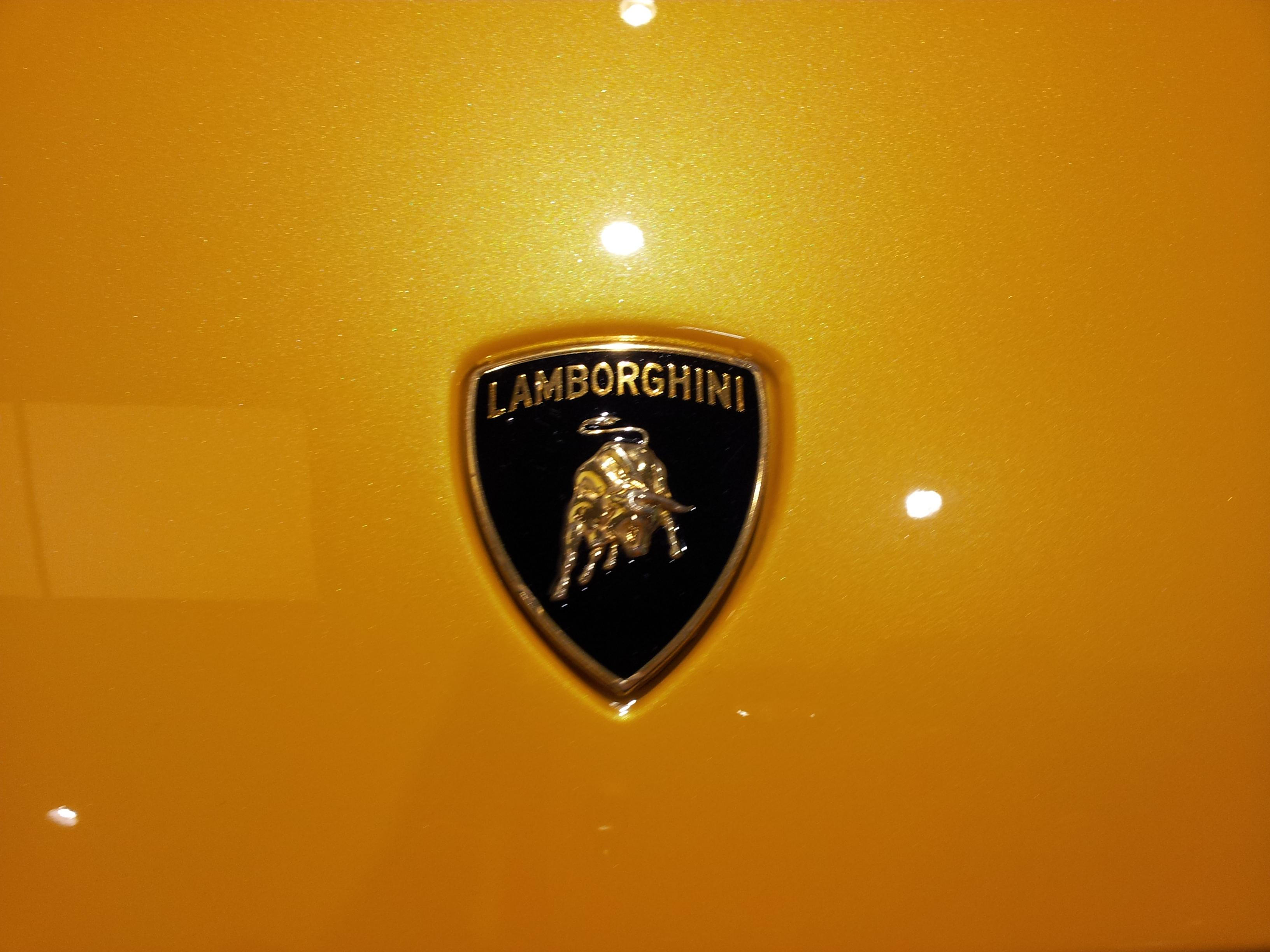 Lamborghini Logo Background Wallpaper HD