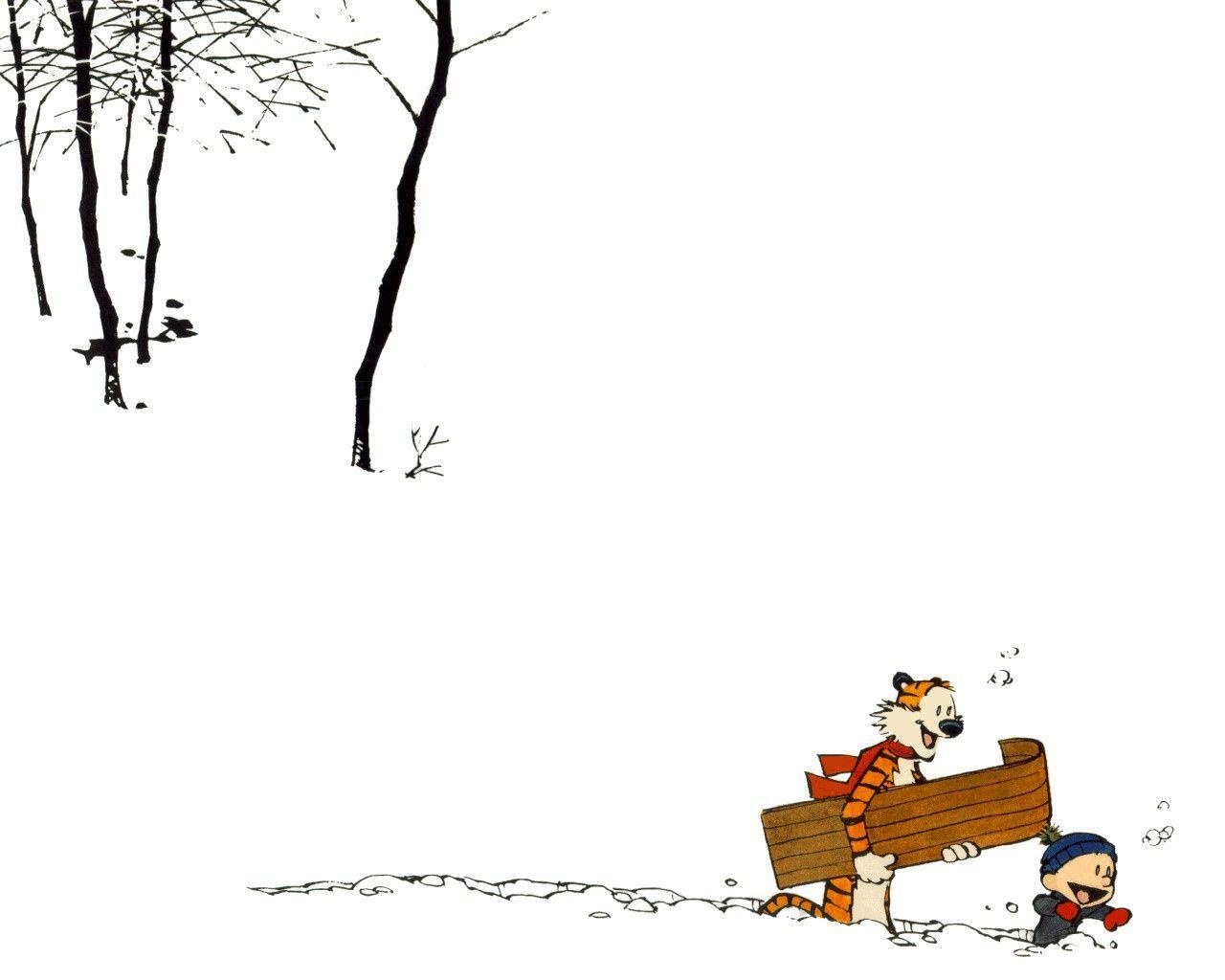 Calvin And Hobbes Desktop Wallpapers Wallpaper Cave