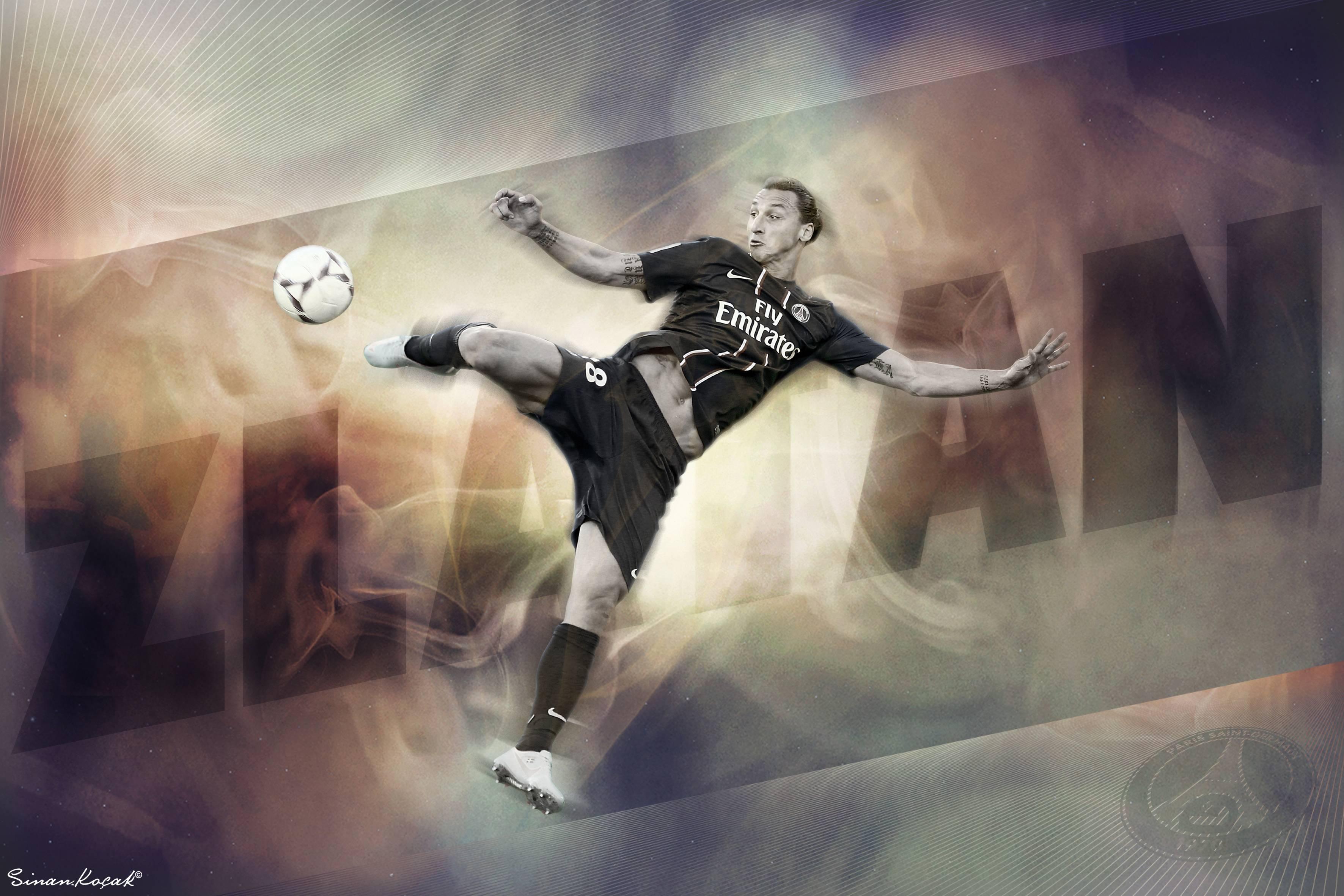 Zlatan Ibrahimovic PSG Exclusive HD Wallpapers #